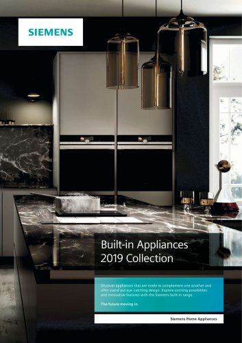 Built-in Appliances Brochure