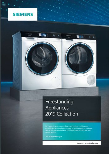 Free-standing Appliances Brochure
