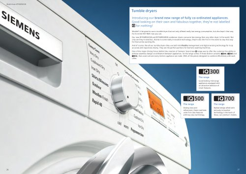 Tumble Dryers 2009