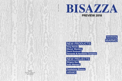 BISAZZA PREVIEW 2018
