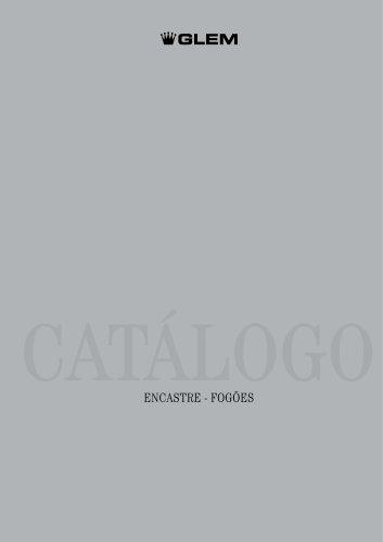 Catálogo Encastré - fogões