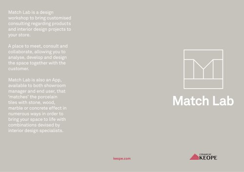 CATALOGO MATCH LAB