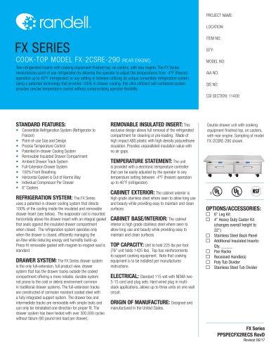 Cook-Top Model FX-2CSRE-290