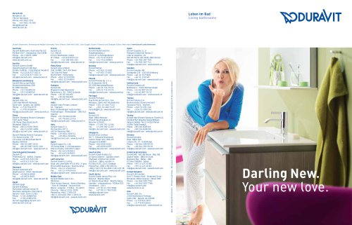 Darling New ideas brochure