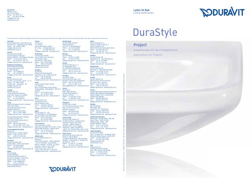 DURASTYLE PROJECT