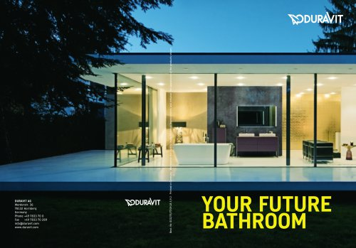 Your future bathroom