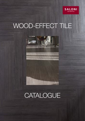 Wood-effect tile