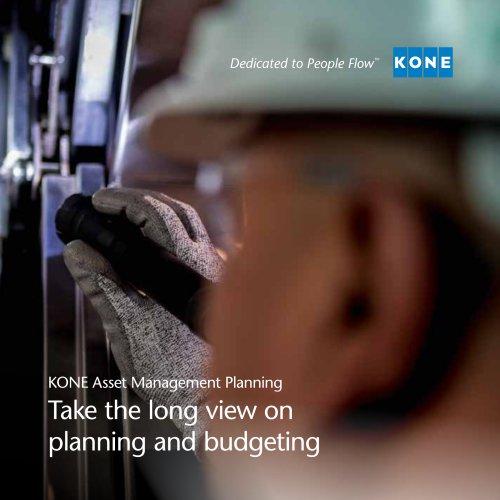 kone asset management planning