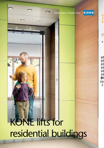 KONE lifts for residential buildings