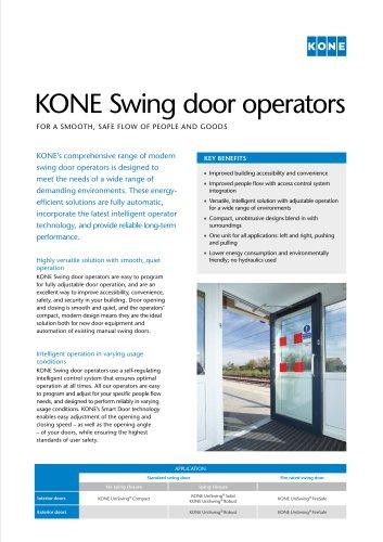 KONE Swing door operators