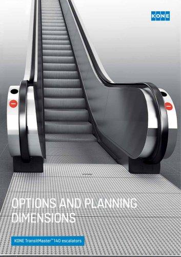 KONE TransitMaster™ 140 escalators