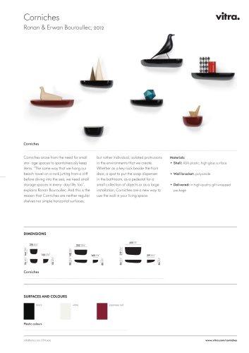 Corniches Factsheets