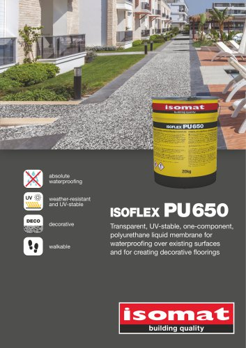 ISOFLEX-PU 650 BROCHURE