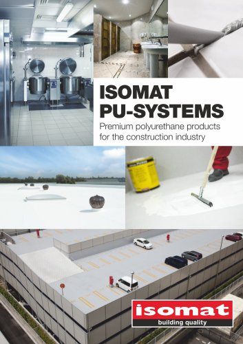 ISOMAT PU-SYSTEMS BROCHURE