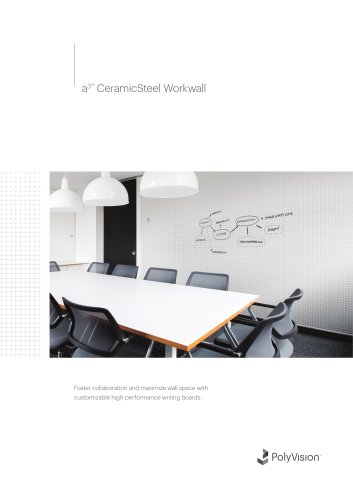 a3™  CeramicSteel Workwall