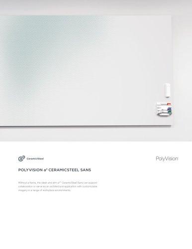 POLYVISION a3 CERAMICSTEEL SANS