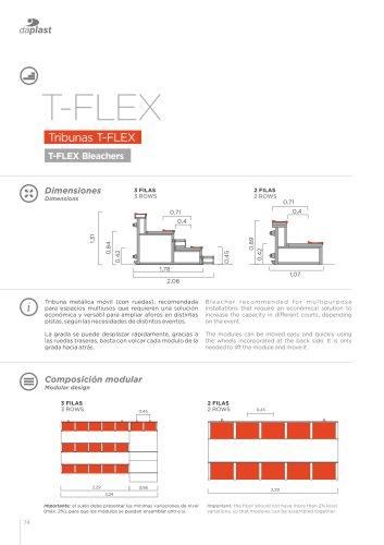 Tribunas móviles T-Flex
