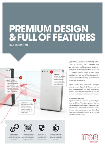 PREMIUM DESIGN & FULL OF FEATURES