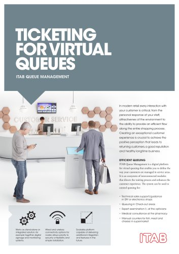 TICKETING FOR VIRTUAL QUEUES