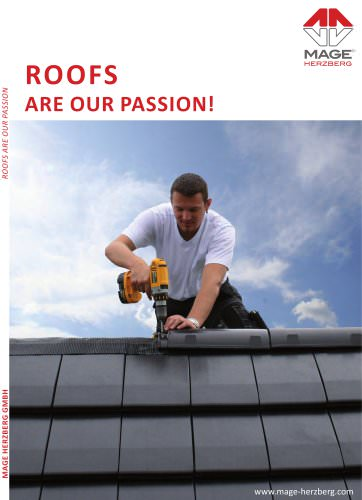 Catalogue roofing accessories 2013
