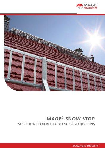 MAGE Snow Stop