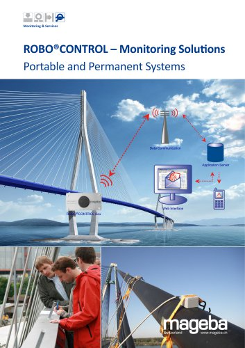 ROBO®CONTROL – Monitoring Solutions Portable and Permanent Systems