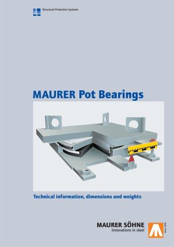 MAURER Pot Bearings