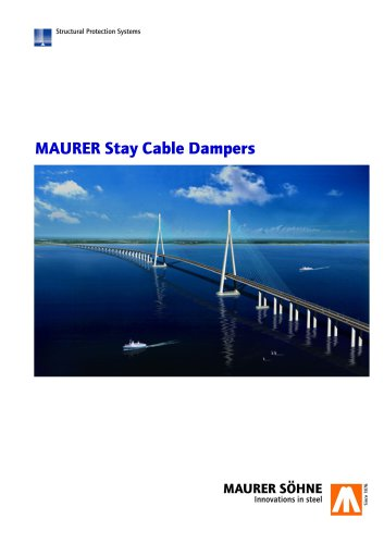 MAURER Stay Cable Dampers