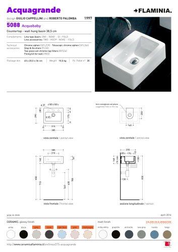 Acquagrande   Technical details