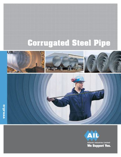 Corrugated Steel Pipe (CSP)