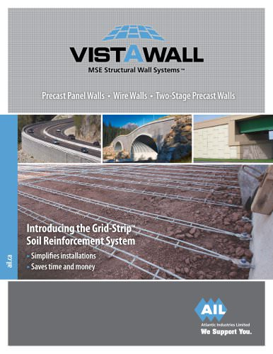 Vist-A-Wall MSE Structural Wall Systems