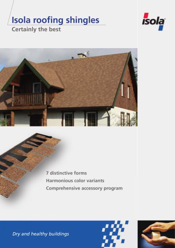 Isola roofing shingles