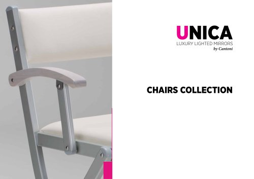 Unica, Chairs Line Catalogue