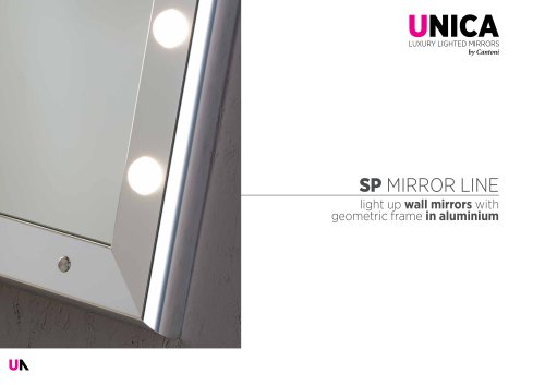 Unica, SP mirrors line Catalogue