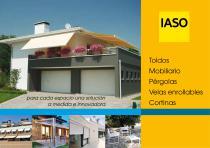 Toldos - Mobiliario - Pérgolas - Velas enrollables - Cortinas - 1