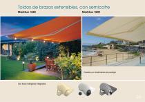 Toldos - Mobiliario - Pérgolas - Velas enrollables - Cortinas - 27