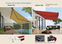 Toldos - Mobiliario - Pérgolas - Velas enrollables - Cortinas - 28
