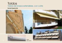 Toldos - Mobiliario - Pérgolas - Velas enrollables - Cortinas - 4