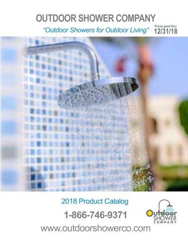 OutdoorShowerCatalog 2018