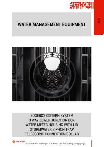 WATER MANAGEMENT EQUIPMENT