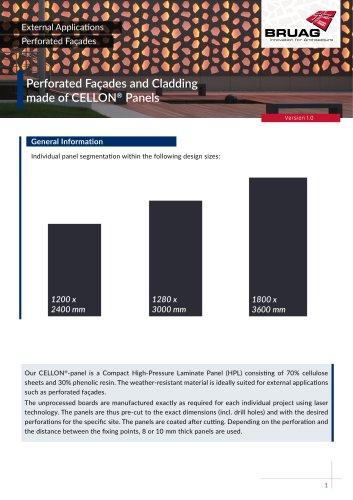 1_2 Exterior Applications - Perforated Facade Technical Sheet