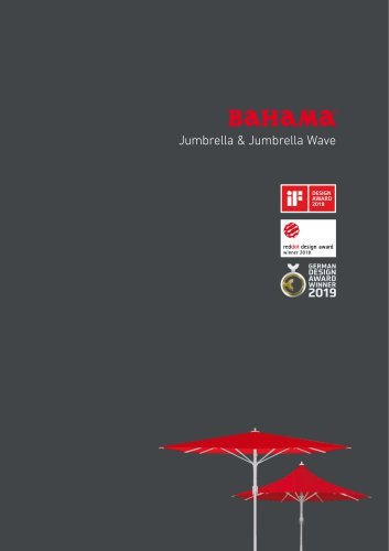 BAHAMA Jumbrella & Jumbrella Wave
