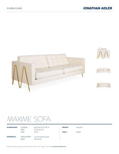 MAXIME SOFA
