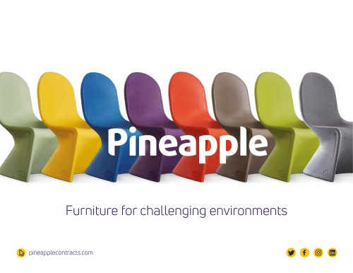 Furniture for challenging environmer