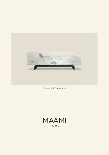 Grammi S Calacatta factsheet
