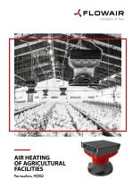 AIR HEATING OF AGRICULTURAL FACILITIES