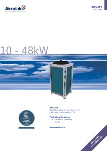 BluCube™ 10-48kW Sales Brochure (English)
