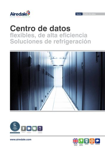 Data Centre Cooling Sales Brochure (Spanish)