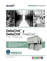 DeltaChill™ FreeCool 110-1080kW Sales Brochure (Spanish) - 1