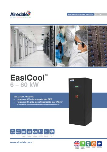 EasiCool™ 6-64kW Sales Brochure (Spanish)